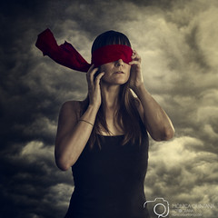 42/52 - Into the darkness (Mnica Quintana) Tags: dark sadness nikon sad darkness blind creative creation monica concept conceptual blindness quintana 52weeks project52 nikond600