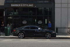 barber shop (sean.m.c photography) Tags: black hair nikon colorado mine fast tint denver german barber salon spotted matching expensive audi loud luxury coupe s5 d3200 worldcars