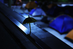 (marjooorie_l) Tags: hk umbrella hongkong midnight revolution democracynow studentstrike umbrellarevolution umbrellamovement hkclassboycott hkmovement