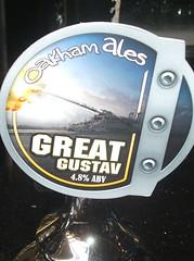 Big gun beer (selcamra) Tags: beer drinking southlondon camra realale jdw selcamra oakhamales schwerergustav oakhambrewery greatgustav
