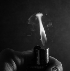 flame (dynamo photography2509) Tags: blackandwhite fire photography nikon photographer smoke flame strike lighter sparks d7100
