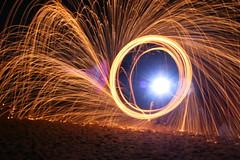 IMG_4182 (raimund.stolle) Tags: lightpainting see wasser nacht alien ufo feuer oldenburg feuerwerk
