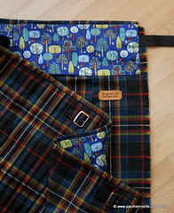 MacLately tartan to the sett