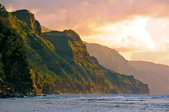Na Pali coast from Ke'e beach (Brian Howell) Tags: hawaii kauai