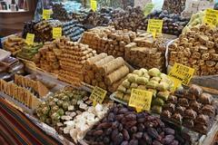 Sweetmeats, Istanbul (jozioau) Tags: spices bazaar sweetmeats variosonnart282470
