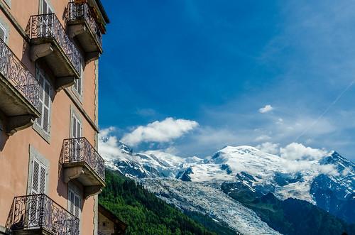 Mer de glace du Mont-Blanc depuis Chamonix
