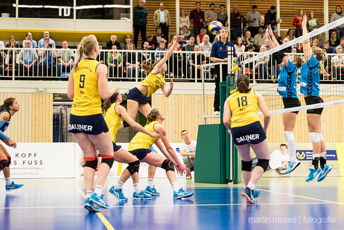 "3. Heimspiel vs. Volleyball-Team Hamburg • <a style=""font-size:0.8em;"" href=""http://www.flickr.com/photos/88608964@N07/31974681754/"" target=""_blank"">View on Flickr</a>"