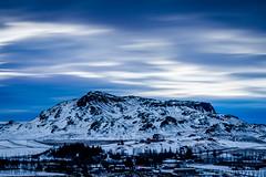 Miðfell Mountain (Daniel Coyle) Tags: flúðir miðfellmountain miðfell mountain snow iceland secretlagoon danielcoyle nikon nikond7100 d7100 skyline longexposure leefilter bigstopper clouds blur geothermal