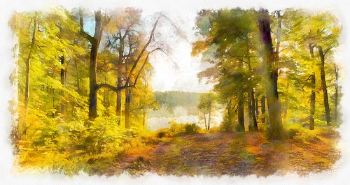 Осень в Суханово.