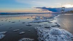 Adriatic sea in winter (Stefano Montagner - The life around me) Tags: foam inverno jesolo landscape mare paesaggio sabbio sand schiuma sea sole stefanomontagner sun sunset thelifearoundme tramonto winter