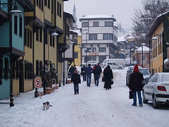 Odun Pazarı (Wood Market), district, Eskişehir, Turkey (Steve Hobson) Tags: odun pazarı wood market eskişehir winter snow
