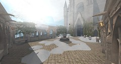 Spring is coming @ Mischief Managed (ℐshwari Sting) Tags: mischiefmanaged nature secondlife harrypotter courtyard yard hogwarts jk rowling expecto patronum spells magic