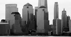 Dark Power (chantsign) Tags: blackandwhite monochrome dark solid financial world center worldfinancialcenter black newyorkcity manhattan buildings skyscrapers constrast reflections strong windows squares shapes