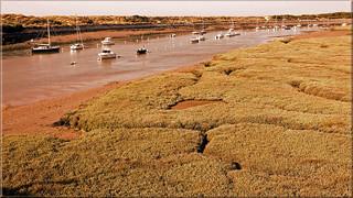Estuary of  the River Dives