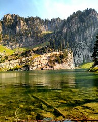 Bloomington Lake, Idaho. Such a gorgeous mountain lake. One of my favorite places to be. #tysjerky #mountains #mountainlake #nature #myoffice (tylersims) Tags: myoffice mountainlake nature mountains tysjerky