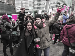 IMG_0222 (justine warrington) Tags: womens march womensmarch womensmarchonwashington washington pink pussy hats pinkpussyhat protest signs trump 45th presidential election january 21st 2017 potus resist resistance is fertile