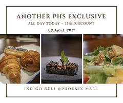 ******Sunday Surprise!***** (help me grow my group - re-share on your profile page as well) EXCLUSIVE to Pune's Hungry Souls' group members - - - - 15% DISCOUNT OFF on anything on the menu at the chic Indigo Deli. My faves: the Belgian Icecream! And their (WhyCallSarah) Tags: april 09 2017 0147pm sunday surprise help me grow group reshare your profile page well exclusive punes hungry souls members 15 discount off anything menu chic indigo deli my faves belgian icecream and their new high tea dessert savory platters no other may be combined with this offer minimum billing how to avail join find out more click here httpsgooglnvtvic