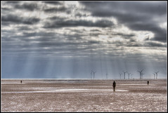 Statues And Turbines (Colin Donaldson) Tags: anotherplace