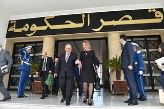 Federica Mogherini visits Algeria, April 2017