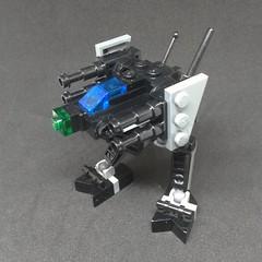 Locust 1V - Updated (Vitor O S Faria) Tags: mfz mf0 mobileframe mobileframezero lego mecha mech locust battletech mechwarrior battlemech