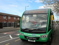 Bus Swapping 331 for 358 (timothyr673) Tags: 331 bus optare solosr green go2 nct nottinghamcitytransport