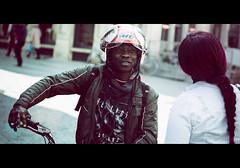 MT (Roy Coumans Photography) Tags: leuven straatfotografie streetphotography cinematic helmet afro film movie movieshot