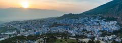 Sonnenuntergang über Chefchaouen (rbrands) Tags: reise travel chefchaouen tanger marokko ma