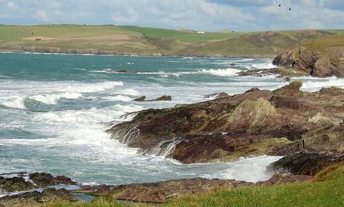 Cornish Stormy Sea