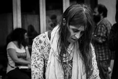 MELANCOLÍA (diegocazzaretto) Tags: nikon argentina retrato persona melancolía tristeza soledad monocromático mujer street