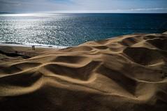 Lovers by the beach (Catch the dream) Tags: lovers beach sea sand ocean california sunny reflection vastness
