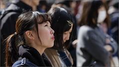 """Transfixed"" Shibuya, Tokyo, Japan (March 2017) (Kommie) Tags: shibuya tokyo japan japanese girl woman lady street candid photography bokeh kawaii fujifilm xpro2 fujinon 90mm f2 r wr"