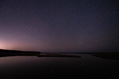 Starry Reflections (jlstein339) Tags: nikon nikkor d750 fx fullframe astrophotography stars reflection sky night landscape starlight bodieisland longexposure 28 1424 trinity tripod astro skyscape nightsky wideangle wideopen travel nc outerbanks