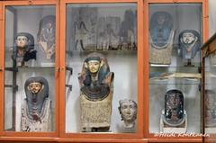 Mummy masks (konde) Tags: mummymask funerarymask ancientegypt treasure cairomuseum art
