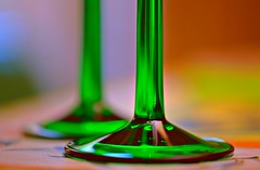 🍸  Cheers! 🍸 (Maria Godfrida) Tags: macro macromondays happy10years glass happy happybirthday birthday celebration drinks cheers drinkingglass green colors colours colorful colourful party hmm 10 throughherlens 7dwf