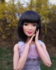 Korean girl enjoys early Spring (Dollytopia) Tags: barbie doll lea kayla asian korean japan china korea idol ulzzang photo beauty