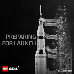 LEGO Ideas 21309 - Apollo 11 Saturn-V Rocket (THE BRICK TIME Team) Tags: lego brick 2017 ideas cuusoo apollo saturnv 11 21309 rocket rakete nasa june legoapollo powerful raumfahrt space launch