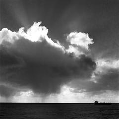 Storm in the bay area (-Alberto_) Tags: hasselblad500cm mediumformat monochrome carlzeiss seascape kodaktrix400