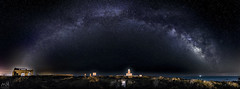 Milky Way over Tabarca Lighthouse (MSB.Photography) Tags: tabarca alicante nocturna night estrellas stars sony nex7 landscape paisaje españa isla island panorámica panoramic spain aire libre cielo faro lighthouse vialactea milkyway longexposure largaexposicion samyang samyang12mm nightscape