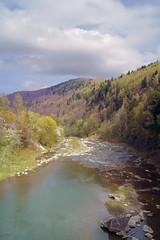 Весенний пейзаж на горной реке. (igor_shumega) Tags: природа пейзаж горы говерла река сониа580 весна вода воздух лес дизайн дерево