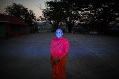 Blue (Fabrizio Alessi) Tags: to do buddhism fabrizioalessi photojournalism photodocumentary documentaryphoto flashphotography