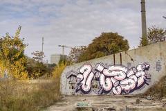 Wurst (Herbalizer) Tags: wurst hnrx mural urban street spray paint art wien vienna austria österreich wall wand lost decay place playground