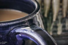 Cup of Joe (JLDMphoto) Tags: nikon d7200 tokina100mmf28atxprod tokina m100 macro coffe mug cup pottery macromondays glaze glazing