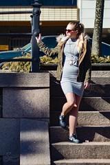Stairs 2 (asaamane) Tags: fashion jaanaviren kotka miljöö muotokuva tfcd casual tyttö