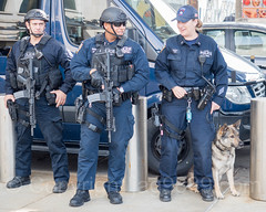 NYPD Police Officers, 2017 Yankees Home Opener at Yankee Stadium, The Bronx, New York City (jag9889) Tags: openingday usa homeopener esu canine bronx 20170410 policeofficer newyork southbronx yankeestadium nypd newyorkcity yankees 2017 al allamericacity americanleague ballpark baseball baseballteam bombers cop dog finest firstresponder k9 lawenforcement majorleaguebaseball ny nyyankees nyc nyy newyankeestadium newyorkcitypolicedepartment newyorkyankees officer outdoor pinstripes police policedepartment stadium thebronx thebronxbombers theyanks unitedstates unitedstatesofamerica jag9889 us