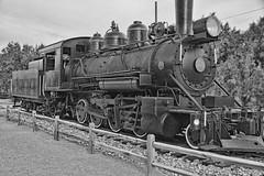 2017_03_10 Furnace Creek, CA._06PSETZ (Walt Barnes) Tags: furnacecreek deathvalley weathered calif locomotive engine steamengine steam baldwin baldwinlocomotiveworks dvrr2 dvrr narrowgauge canon eos 60d eos60d canoneos60d wdbones99 topazsoftware pse15 topaz topazblackwhiteeffects bw blackwhite blackandwhite monotone