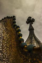 Casa Batllo (RalphHatoum) Tags: architecture mosaic buildings gaudi casa batllo barcelona barcelone espagne spain