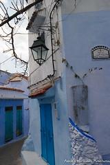 A corner in Chefchaouen Medina (adventurousness) Tags: bluecity chefchaouenthebluepearl thebluecity blue chaouen chefchaouen light morocco travel medina