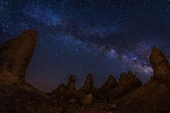 Impact (EricGail_AdventureInFineArtPhotography) Tags: milkyway tronapinnacles nightscape lll lowlevellighting canon 6d stars