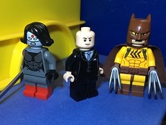 Tanerverse: (Somewhat) Purist Figs (Tanerine25) Tags: catman lexluthor katana lego