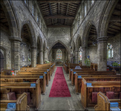Badby Church Interior (Darwinsgift) Tags: badby church interior st mary virgin northamptonshire pc e nikkor 19mm nikon d810 hdr photomatix ed mf tilt shift photostich multiple exposure vertical